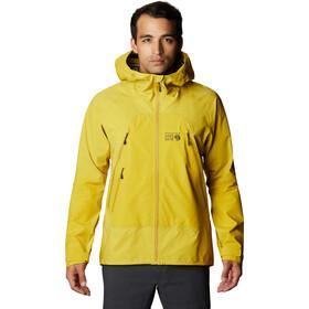 Mountain Hardwear High Exposure Gore-Tex C-Knit Chaqueta Hombre, amarillo